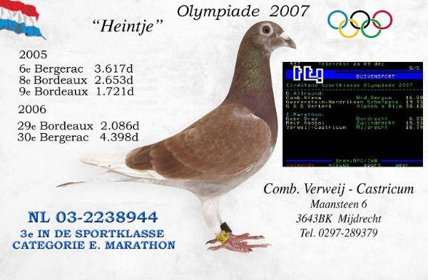 Olympiade 2007  HEINTJE