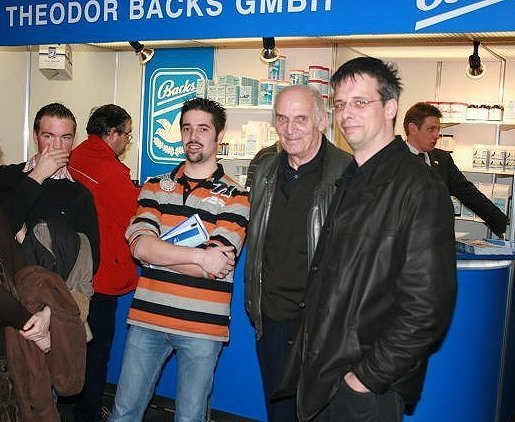 Klik voor een vergroting van Maarten De Boe, Peter Pillet, Michelen en Luc Lippens